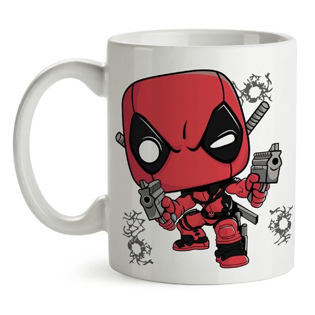 Mug Deadpool Tipo Pop