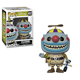 Clown Funko Pop El Extraño Mundo De Jack 452