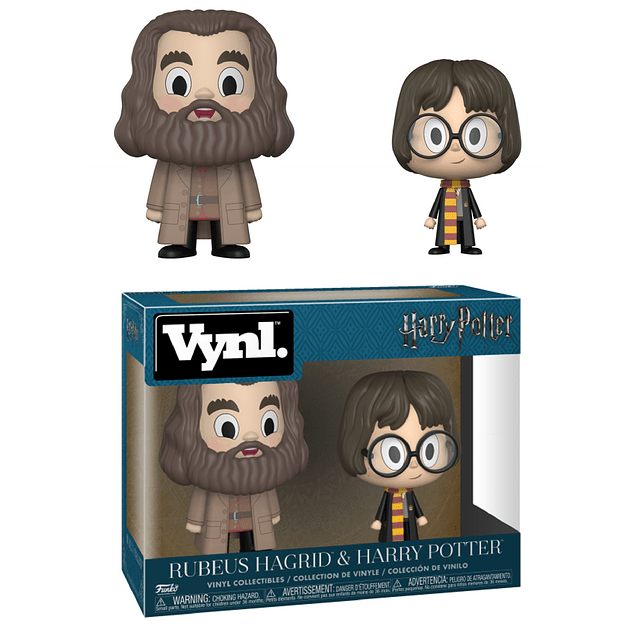 Rubeus Hagrid & Harry Potter Funko Vynl Harry Potter