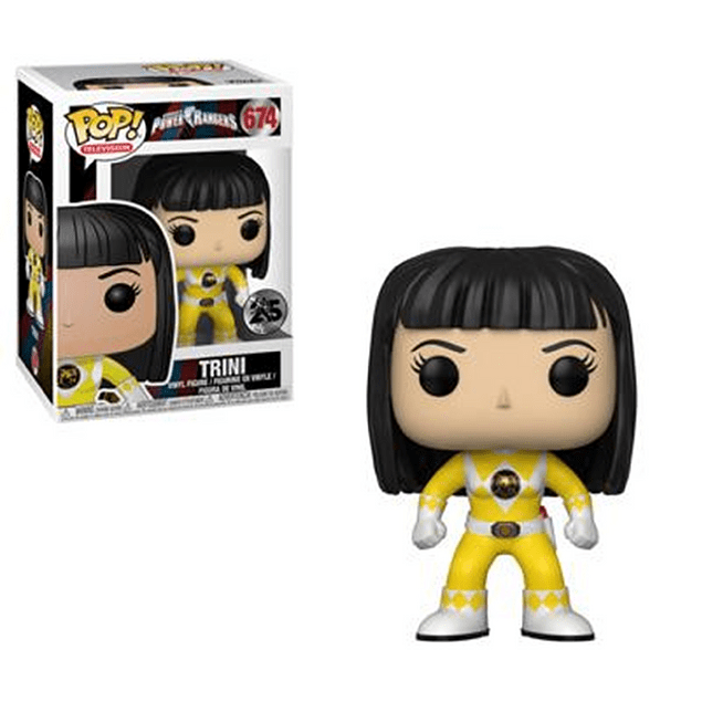 Trini Funko Pop Power Rangers 674