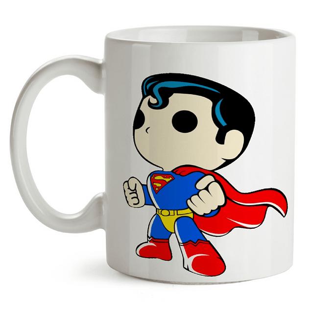Mug Superman Tipo Pop