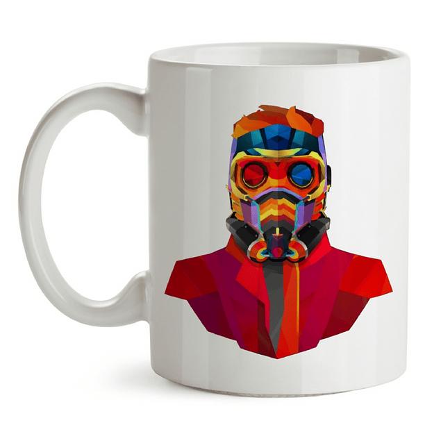 Mug Star Lord Guardianes De La Galaxia