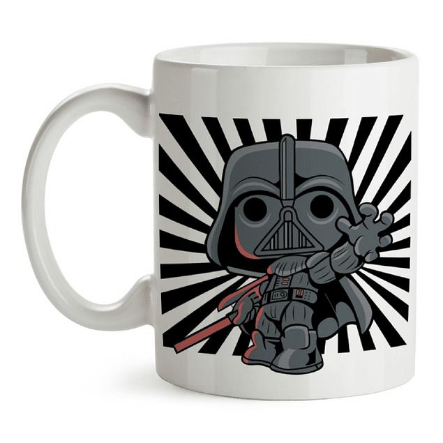 Mug Darth Vader Star Wars Tipo Pop