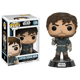 Capitán Cassian Andor Funko Pop Star Wars Rogue One 139