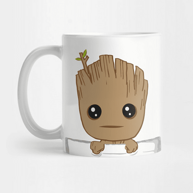 Mug Groot Guardianes De La Galaxia