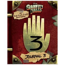 Gravity Falls Diario 3 Disney Xd Inglés
