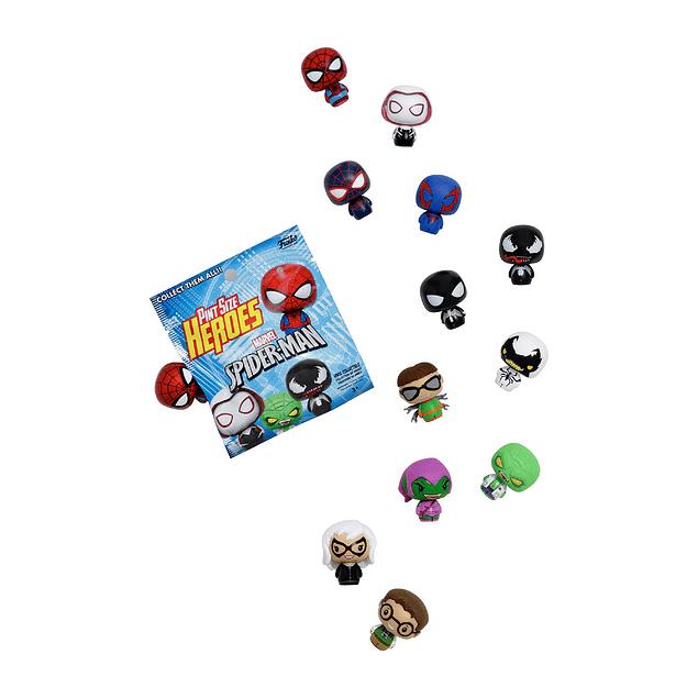 Spiderman Funko Pint Size Heroes Sobre X 1
