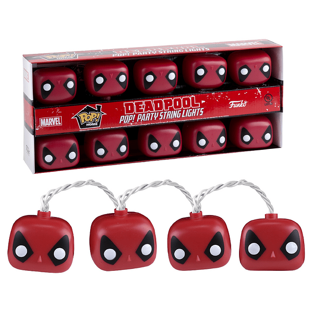 Deadpool Luces Funko Pop Marvel