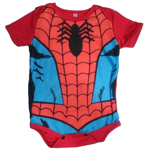 Body Bebés Spiderman Avengers