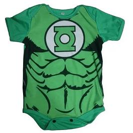 Body Bebés Linterna Verde