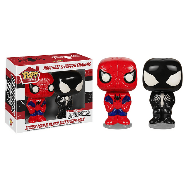 Salero Pimentero Funko Pop Home Spiderman Marvel