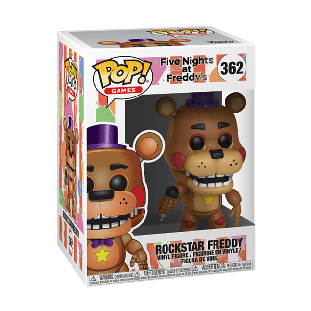 Rockstar Freddy Funko Pop Five Nights At Freddys 362