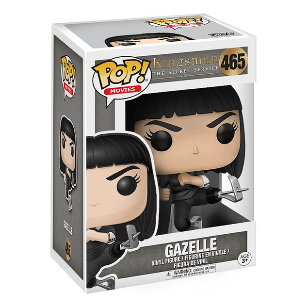 Gazelle Funko Pop Kingsman 465