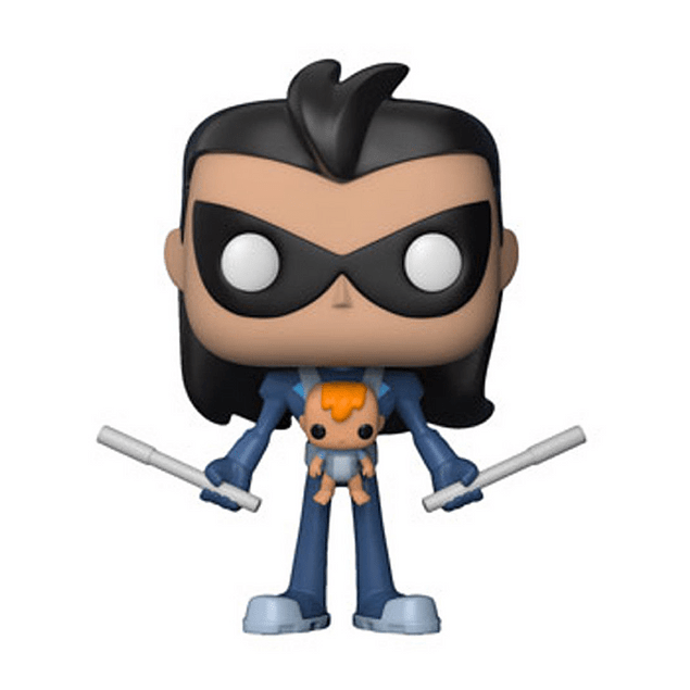Robin With Baby Funko Pop Teen Titans Go 599 Hot Topic