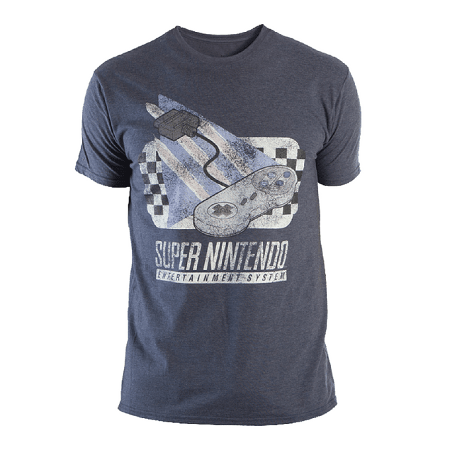 Camiseta Hombre Control Super Nintendo