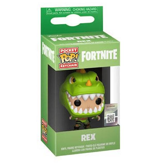 Rex Llavero Funko Pop Fortnite
