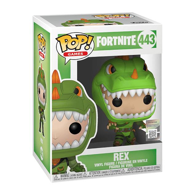 Rex Funko Pop Fortnite 443