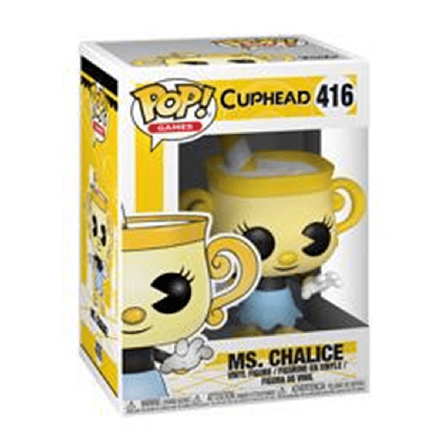 Ms Chalice Funko Pop Cuphead 416