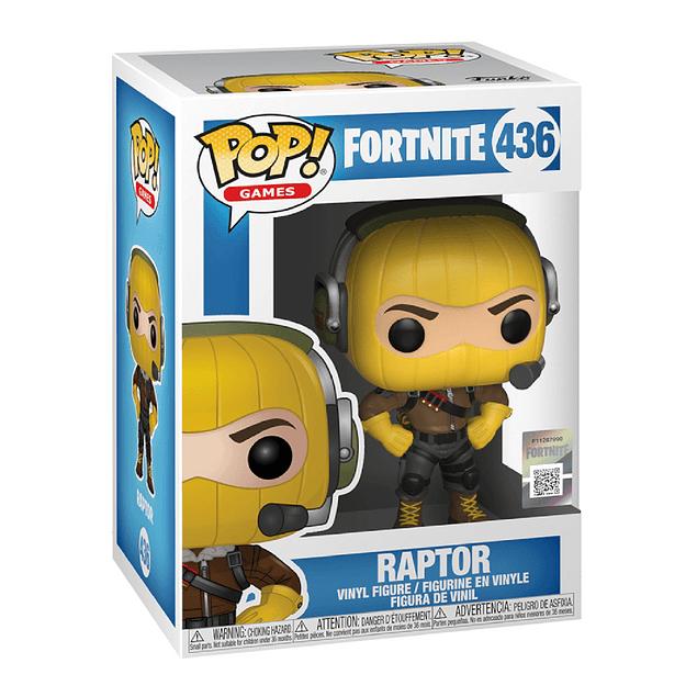 Raptor Funko Pop Fortnite 436