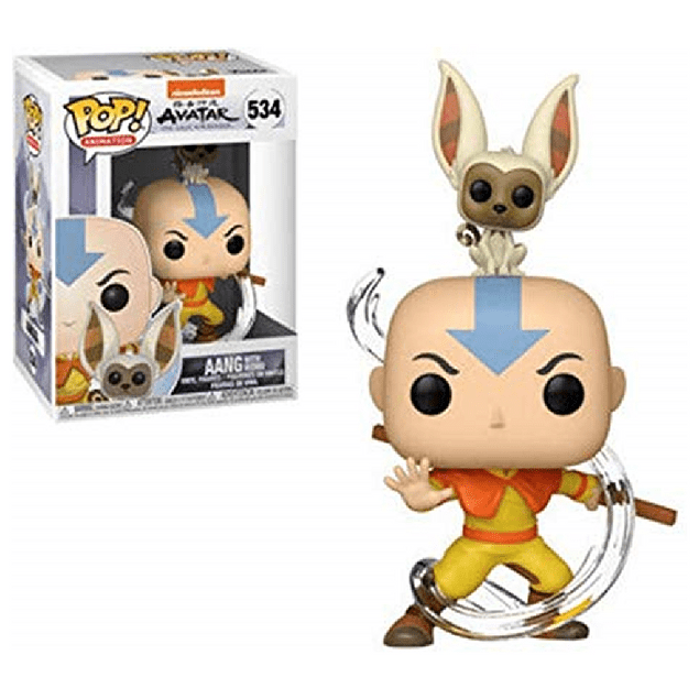 Aang With Momo Funko Pop Avatar 534