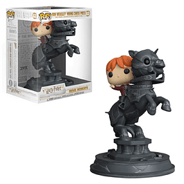 Ron Weasley Riding Chess Piece Funko Pop Movie Moments Harry Potter 82