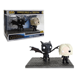 Grindelwald and Thestral Funko Pop Movie Moments Fantastic Beasts 30 Hot Topic