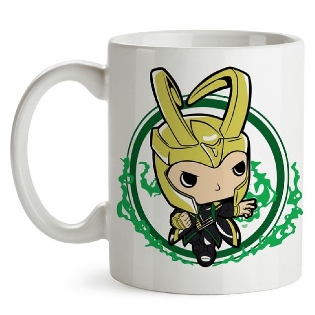Mug Loki Marvel Tipo Pop