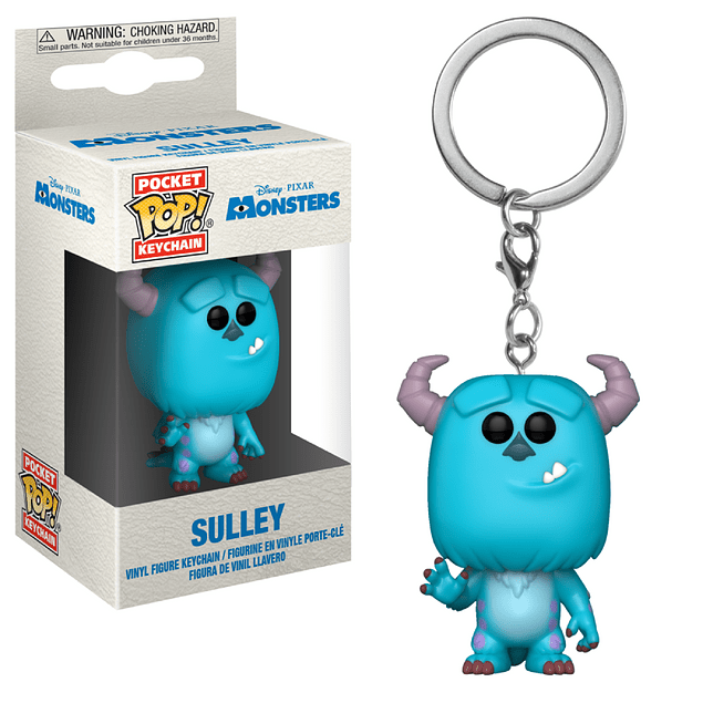 Sulley Llavero Funko Pop Disney Monsters Inc