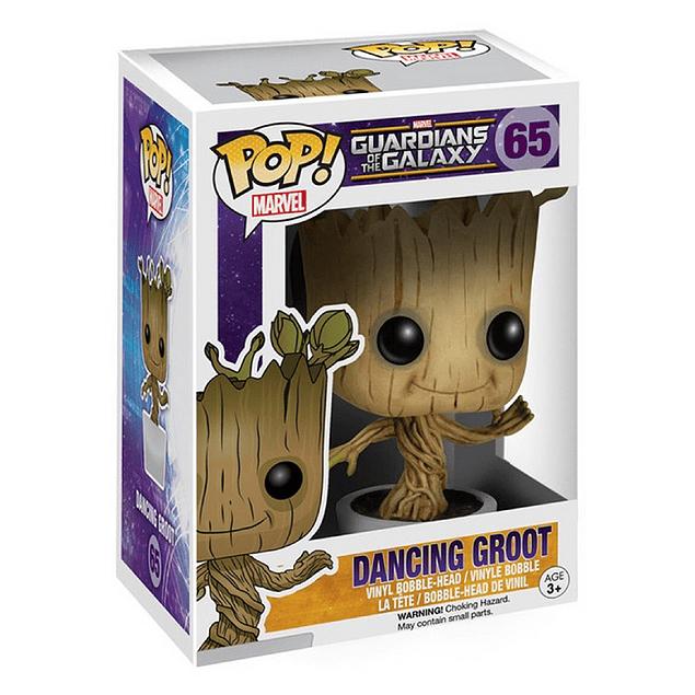Dancing Groot Funko Pop Marvel Guardianes De La Galaxia 65