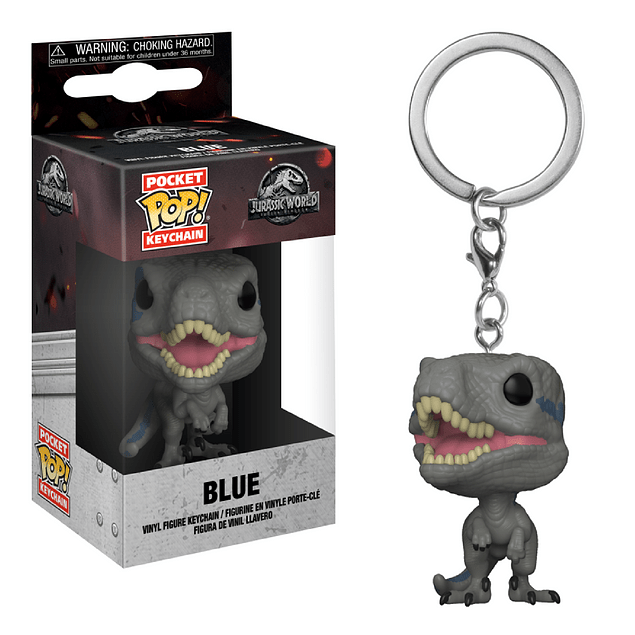 Blue Llavero Funko Pop Jurassic World