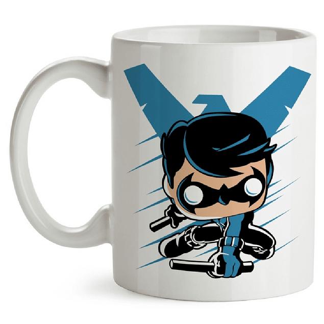 Mug Nightwing Tipo Pop