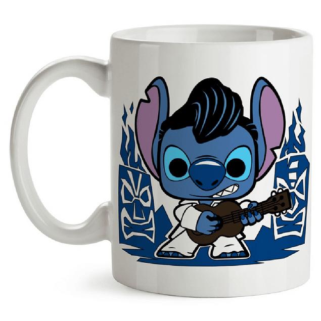 Mug Stitch Elvis Tipo Pop