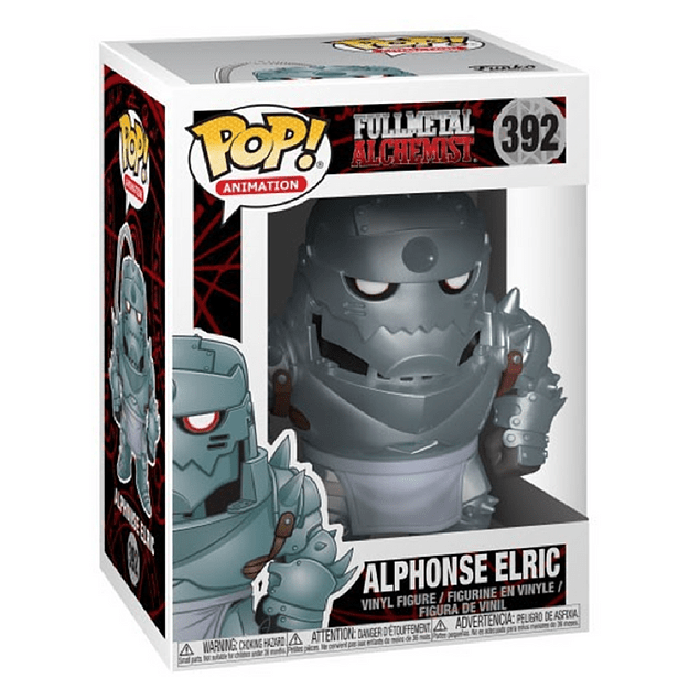 Alphonse Elric Funko Pop Fullmetal Alchemist 392