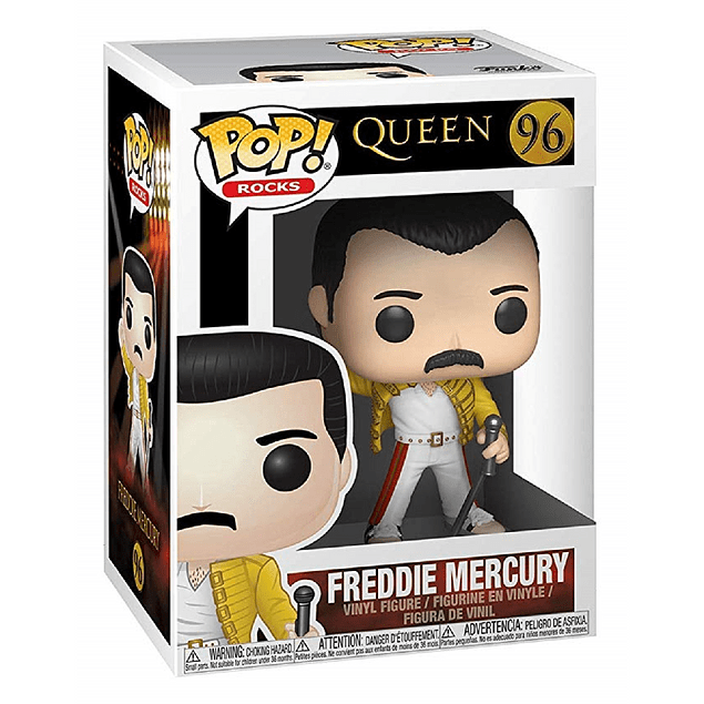 Freddie Mercury Funko Pop Queen 96