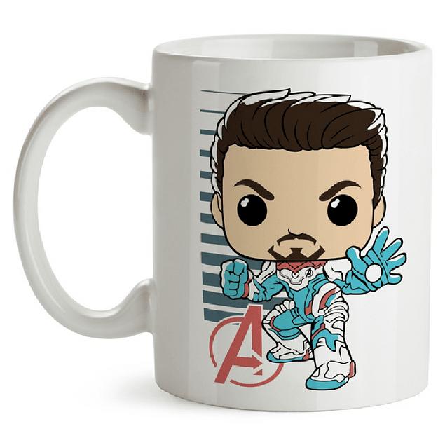 Mug Tony Stark Avengers Endgame Tipo Pop