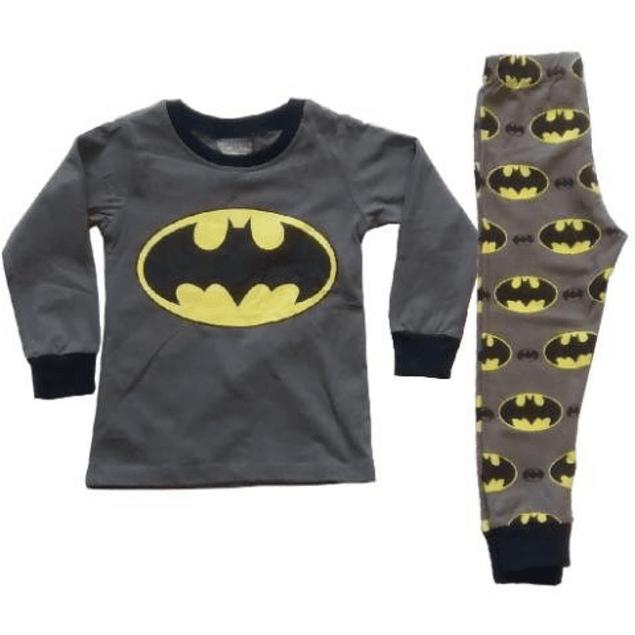 Pijama Niños Batman Tipo Disfraz