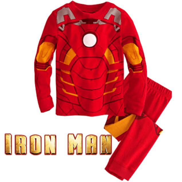 Pijama Niños Ironman Tipo Disfraz