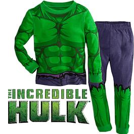 Pijama Niños Hulk Tipo Disfraz