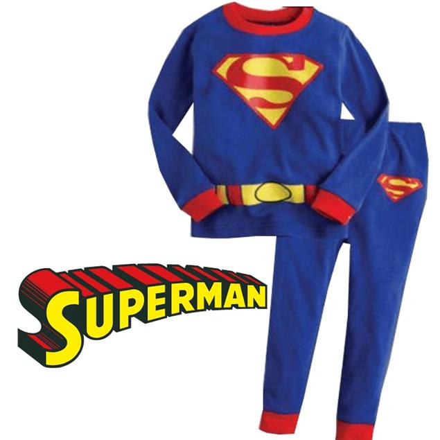 Pijama Niños Superman Tipo Disfraz