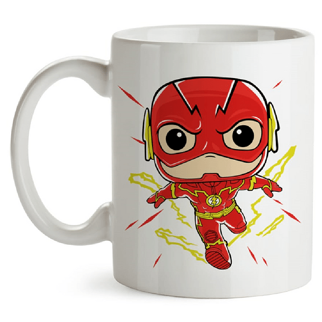 Mug The Flash Tipo Pop