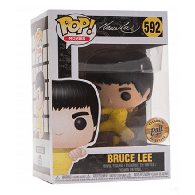 Bruce Lee Funko Pop 592 Bait