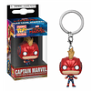Captain Marvel Mask Llavero Funko Pop Capitana Marvel
