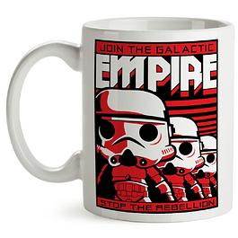 Mug Stormtroopers Star Wars Tipo Pop