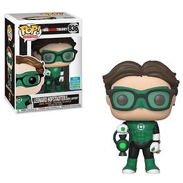 Leonard Hofstadter As Green Lantern Funko Pop The Big Bang Theory 836 SDCC2019