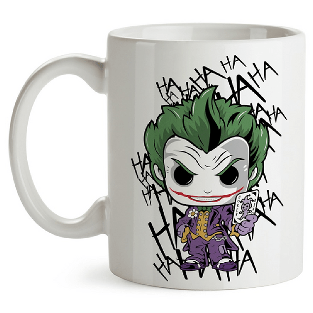 Mug The Joker Tipo Pop