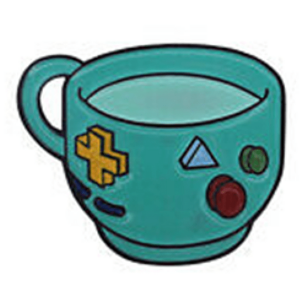Pin BMO taza Adventure Time