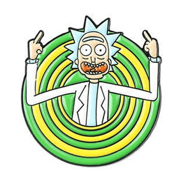 Pin Rick Fuck You Rick And Morty