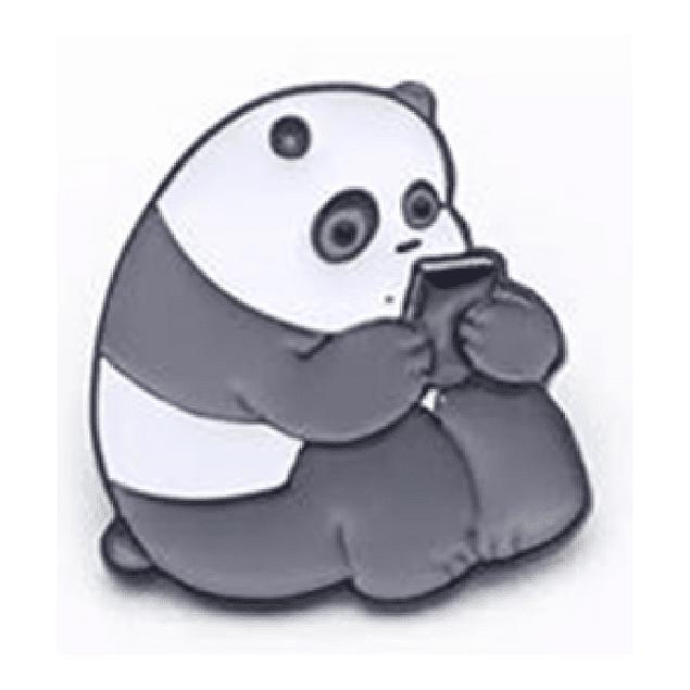 Pin Panda Escandalosos