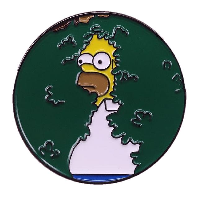 Pin Homero Arbustos The Simpson
