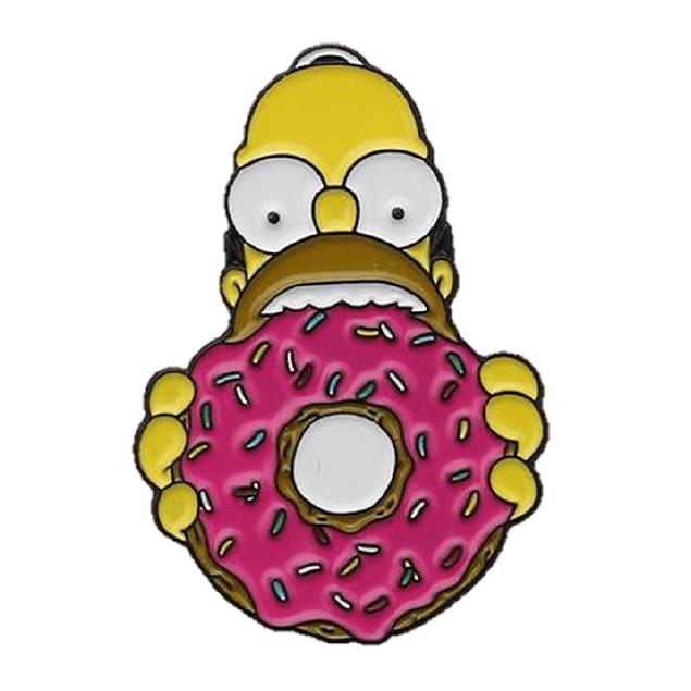 Pin Homero Comiendo Donut The Simpson